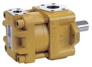 SUMITOMO QT4123 Series Double Gear Pump QT4123-63-4F