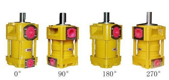 SUMITOMO QT6253 Series Double Gear Pump QT6253-125-50F